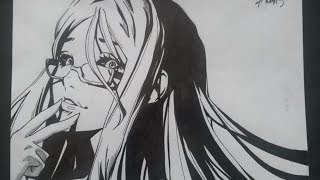 Download Video Drawing Rize Kamishiro (From Tokyo Ghoul) MP3 3GP MP4