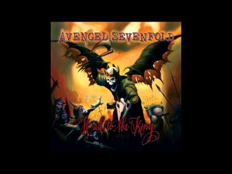 Avenged Sevenfold - Hail To The King - New Release 2013 with lyrics (full song)
