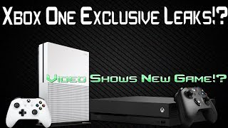 Microsoft Accidentally Shows Off New Exclusive Game In Leaked Video!?