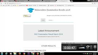 MSBSHSE SSC Result 2018 update,& available now @ mahresult.nic.in