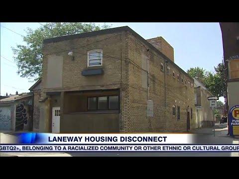 Toronto's laneway housing disconnect
