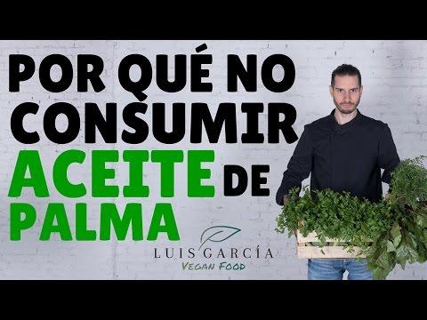 Por qué no consumir aceite de palma
