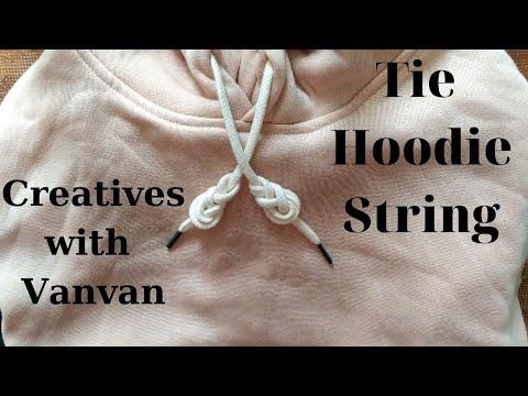 How To Tie Hoodie String_Những Cách Thắt Dây áo Hoodie Cực Dễ_Creatives With Vanvan