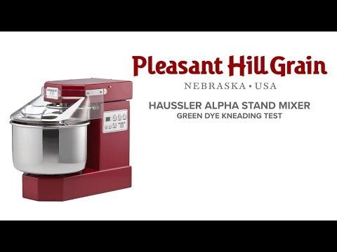 Haussler Alpha Green Dye Kneading Test