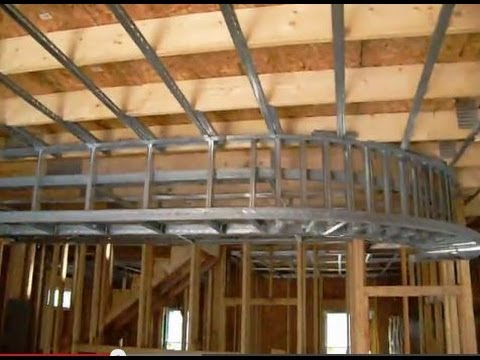 ceiling and soffit first floor - YouTube