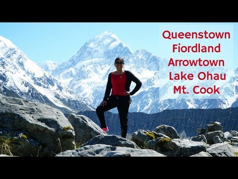 Queenstown, Fiordland, Arrowtown, Lake Ohau, Mt. Cook, Canterbury Lakes, and Farm | Travel Vlog