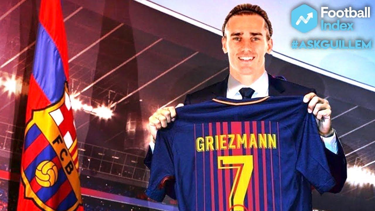 Hasil gambar untuk griezmann barcelona