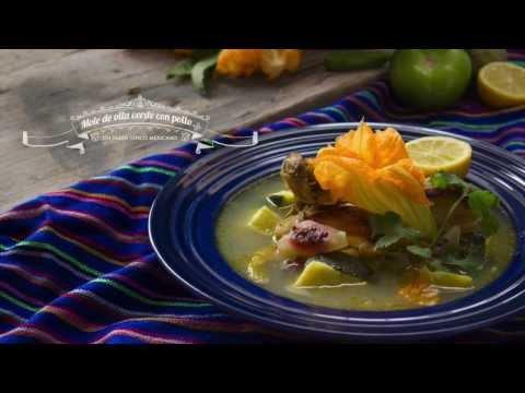 Cómo preparar Mole de olla verde con pollo