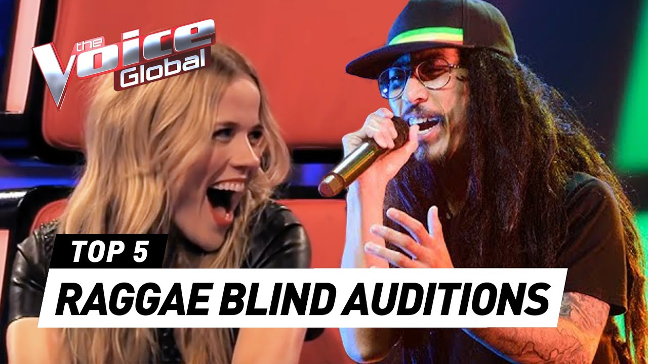 The best REGGAE Blind Auditions in The Voice