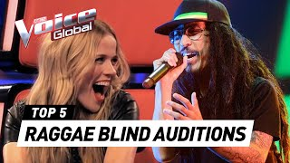 Download The best REGGAE Blind Auditions in The Voice