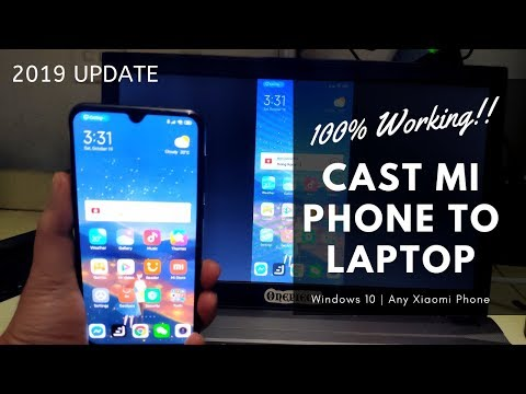 How To Cast Xiaomi Phone To Laptop 2019 Windows 10 Pc [100% Working]