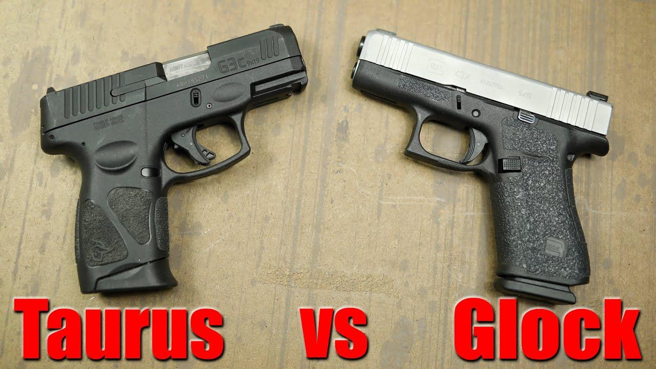 Taurus G3C vs Glock 43X