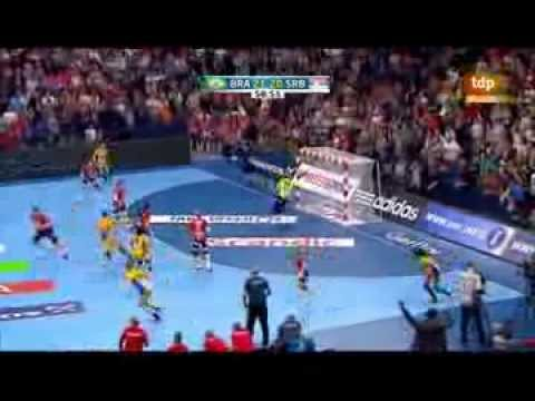 Brazil x Serbia - The final of Women's World Handball Championship 2013 - 2nd Half