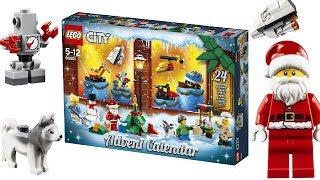 LEGO CITY - 60201 City Advent Calendar 2018 - HD-PICTURES + DETAILS