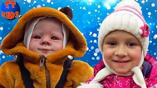 Обложка на видео о Влог Возвращаемся домой из Киева на поезде с Куклой Реборн Видео для детей