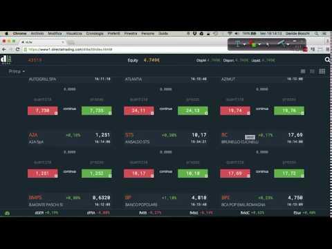 Directa presenta la nuova piattaforma per il trading dLite