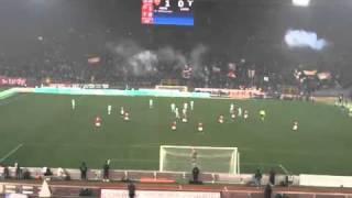 Roma 2   Lazio 1   Borriello dalla Nord