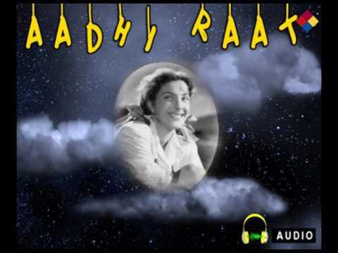Aadhi Raat Rona Hi Likha Tha Kismat Me   Aadhi Raat 1950    Lata Mangeshkar
