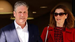 Keir Starmer casts his vote with his wife Victoria in Kentish Town | Local Elections 2021