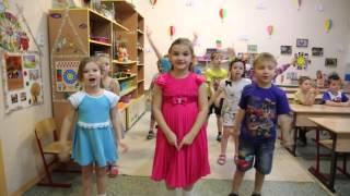 Дети танцуют.Я РИСУЮ НЕБО......