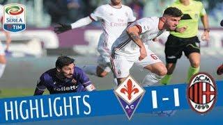Fiorentina - Milan 1-1 - Highlights - Giornata 19 - Serie A TIM 2017/18