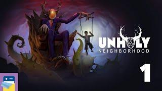 Unholy Neighborhood: iOS/Android Gameplay Walkthrough Part 1 (by Dali Games / Grzegorz Kowal)