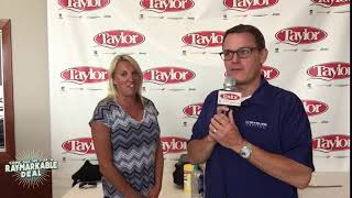 Testimonial Review by Derek and Kelly: 2018 Dodge Durango at      Taylor Chrysler Dodge in Bourbo...