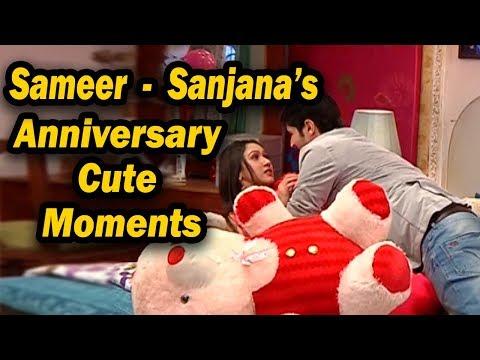 Sasural Simar Ka | Sameer & Sanjana's First Marriage Anniversary | Romantic Scenes thumbnail