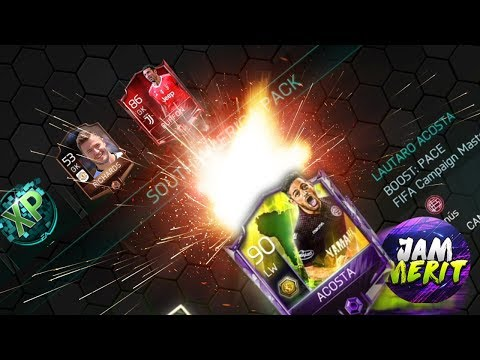 MY 1.6M PULL FROM DAILY ACTIVITIES + ACOSTA 90 OVR COMPLETE | FIFA Mobile