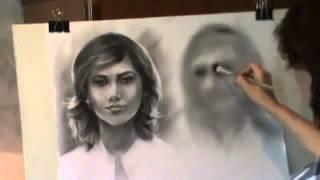 Как научиться рисовать лицо человека в повороте 3 4   Урок 5 1(А о том, как правильно и эффективно научить вашего малыша рисовать, смотрите: http://master-kid.ru/p/baby-paint.html Учиться..., 2014-11-06T18:15:59.000Z)