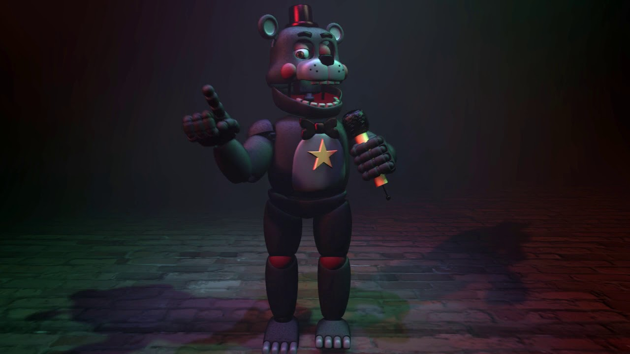 Five Nights At Freddy's Pizzeria Simulator Lefty Dance ...