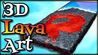 Concrete Epoxy Lava Resin