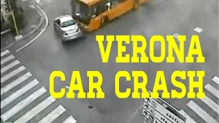 VERONA CAR CRASH INCIDENTI ACCIDENT FAIL EPIC Crazy Drivers