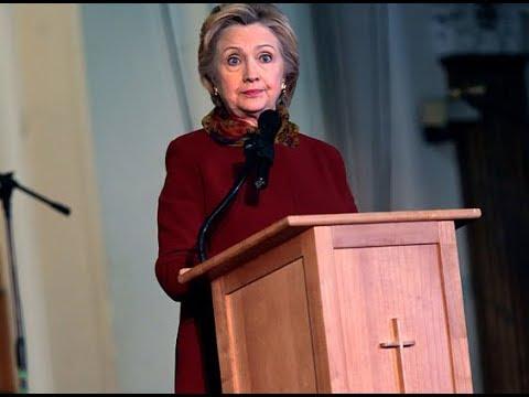 Overheard: The Reverend Hillary Rodham Gump Clinton Edition