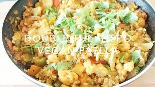 Vegan Spanish Paella | Recipe | Double The Inspo