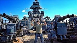 Самая большая пушка из всех, что я видел! | Разрушительное ранчо | Перевод Zёбры