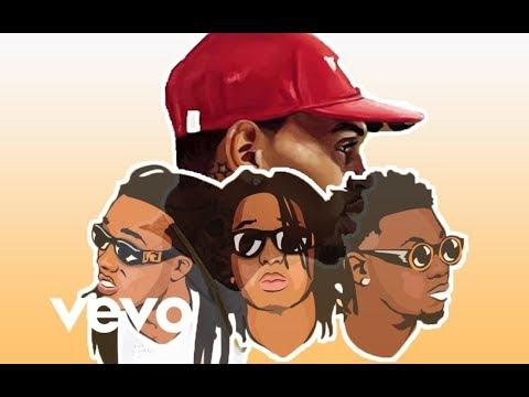 Chris Brown - One Hunnid (Lyric Video) ft. Quavo, Takeoff [Migos] *NEW MUSIC 2017*