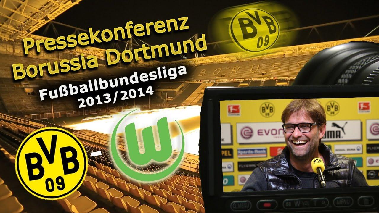 BVB Pressekonferenz vom 03. April 2014 vor dem Spiel Borussia Dortmund gegen VfL Wolfsburg