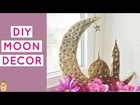 DIY Ramadan decor using cardboard 2019