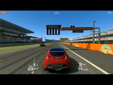 Real Racing 3 -  Hyundai Veloster Turbo - Sports Car Racing Games / Android Gameplay FHD