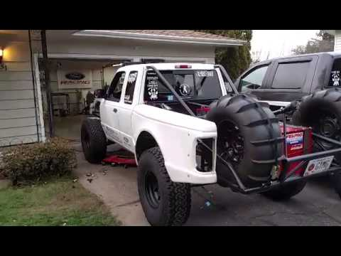 Ford Ranger Prerunner 5 0 With E303 Cam Idle Youtube