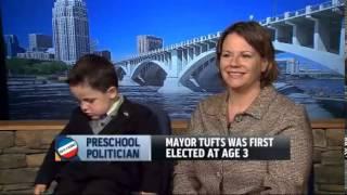 Bobby Tufts, 4 Year Old Dorset, Minnesota Mayor, Says 'I'm The Boss'