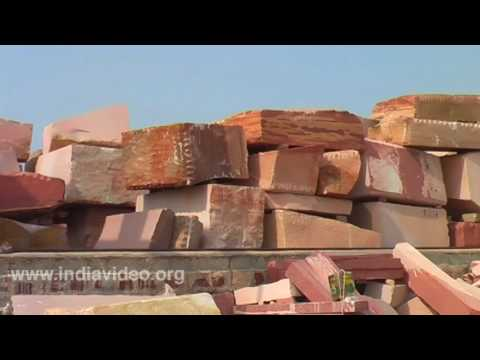 Red Sandstone Factory, Rajasthan