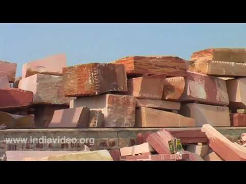 Red Sandstone Factory, Rajasthan