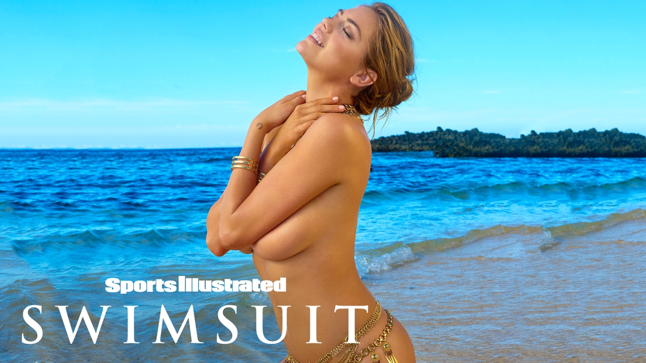 Kate Upton auf den Fiji-Inseln für Sports Illustrated Swimsuit Uncovered