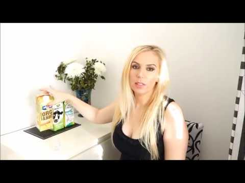 Organic milk alternatives Vegan Alpro Arla tasting and reviewing live chit chat