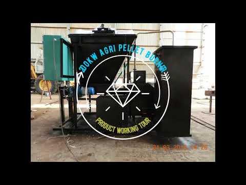 200 kw Agri pellet burner for industrial application