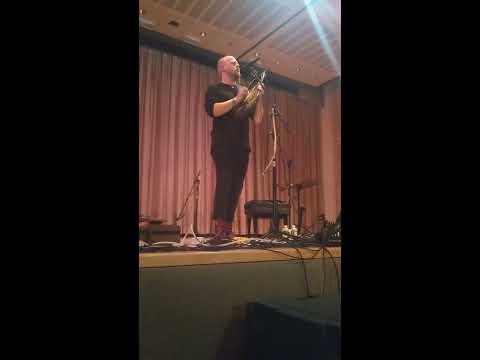 "Einar Selvik ""Sowelu"" at Scandinavia House on 12/9/16"