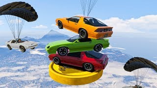 IMPOSSIBLE VEHICLE DARTS! (GTA 5 Overtime Rumble DLC)