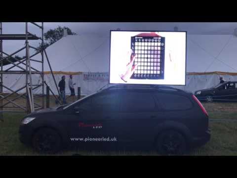 DIGI CAR Mobile LED Billboard Advert Screen Display PioneerLED